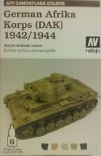 Vallejo acrylic paint set 78.410 German Afrika Korps (DAK) 1942/1944