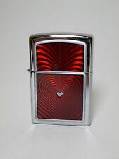 """Zippo  """"RED  HEART  3D"""" -  NEU & ovp - #878"""