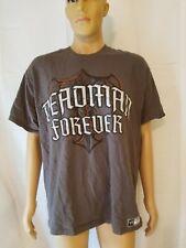 WWE Authentic Deadman Forever Shirt The Undertaker World Wrestling Entertainment