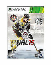 NHL 15 (Microsoft Xbox 360, 2014) COMPLETE  DAMAGED ARTWORK ACTIVISION FAST SHIP