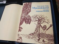 Folk-Tales from Mpondoland - Cantrell Unisa - Signed and Limited 7/50 - RARE!!!!