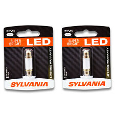 Sylvania ZEVO - Two 1 Packs - 578LED LED Bulb Courtesy Dome Map Trunk Cargo hk