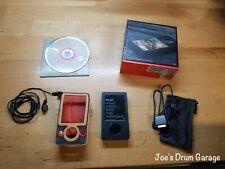 Microsoft Zune 30GB Original Box, Disc, Cable, Case, Headphones - Working Bundle