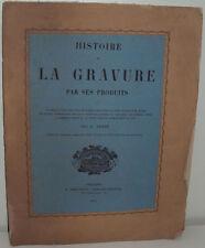 Leber : Histoire de la gravure par ses produits, catalogue estampes, 1872