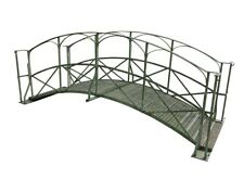 More details for iron & timber pedestrian foot bridge with gates for streams & ponds - ukaa