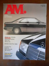AM Mensile Automobile n°5 1990 Lancia da Rally Audi IMSA Mercedes Benz 300 [P40]