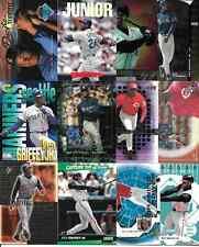 KEN GRIFFEY JR  NICE (12) CARD INSERT LOT SEE SCAN VARIOUS YEARS & BRANDS