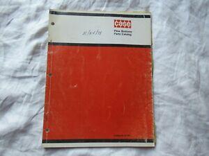 Case  plow bottoms parts catalog manual book