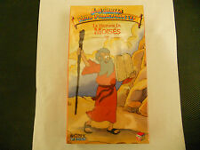 LA HISTORIA DE MOISES VHS NEW LA BIBLIA PARA PRINCIPIANTES