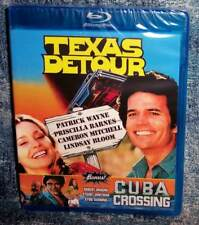 NEW RARE OOP CODE RED TEXAS DETOUR & CUBA CROSSING DOUBLE FEATURE BLU RAY MOVIE