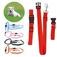 Pet Dog Leash Running Jogging Puppy Dog Lead Collar Adjustable Walking Leash
