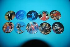 471 pogs pog caps milkcaps flippo : lot de 10 power rangers avimage