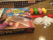 Vintage 1980s Milton Bradley Pig Pong With original box.