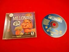 Who Wants to Beat Up a Millionaire (Sega Dreamcast 2000) COMPLETE w/ Disc manual