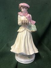 "royal worcester Large figurine Four Seasons Collection ""WINTER"""