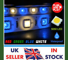 LED 5M RGBW 5050 Flexible Strip Tape Light + IR Remote & PSU - FULL KIT
