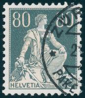 SCHWEIZ 1940, MiNr. 141 y, sauber gestempelt, gepr. Abt, Mi. 380,-