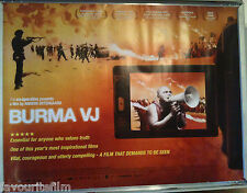 Cinema Poster: BURMA VJ 2009 (Quad) Anders Østergaard Ko Muang Aung San Suu Kyi