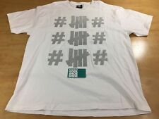 Undefeated UNDFTD x Been Trill CA Bear Short Sleeve Tee Shirt White Size X-Large
