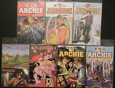 Archie Comics 1 2 3 4 5 5variant 6 Mark Waid Staples NM FREE SHIPPING