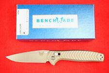 BENCHMADE 781 ANTHEM AXIS LOCK KNIFE, BILLET TITANIUM CPM-20CV