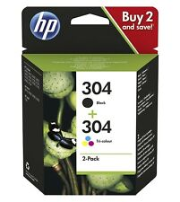 Genuine HP 304 Combo Pack Colour & Black Ink For HP ENVY 3JB05AE