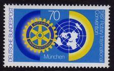 WEST GERMANY MNH STAMP DEUTSCHE BUNDESPOST 1987 Rotary International SG 2188