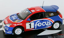 Altaya 1/43 Scale - Ford Focus WRC - Rally De Cangas Del Narcea 2002