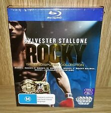 Rocky - The Undisputed (6-Movies Collection) Blu-ray 7-Disc Box Set New & Sealed