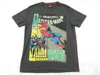 For Love & Money Marvel T-Shirt Men's Size XL Grey Spiderman comics short sleeve