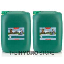Canna Aqua Vega A & B 20 Liter Set - Hydroponic Nutrient Grow Veg 20L