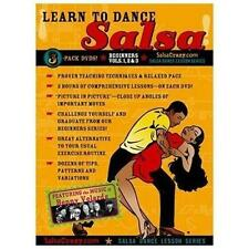 Learn to Dance Salsa Beginners Vol. 1, 2 & 3 (3 DVD Set) BRAND NEW!