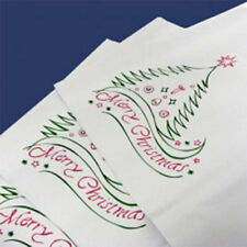 "25 Christmas White 14""x17"" Mailing Postage Mail Postal Bags"