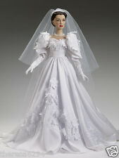 """TONNER-GONE WITH THE WIND- 22"""" SCARLETT'S WEDDING DAY--NRFB"""