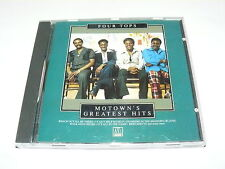 """FOUR TOPS """"MOTOWN'S GREATEST HITS"""" CD MOTOWN 1992"""