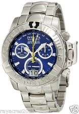 Invicta Men's 10644 Subaqua Noma II Chronograph Blue Dial Stainless Steel Watch