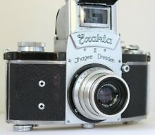 EXAKTA 2 | Exakta II Ihagee Dresden SLR film camera and Carl Zeiss Tessar lens