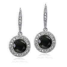 Brass Crystal Drop/Dangle Fashion Earrings