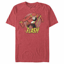 The Flash The Flash Running Portrait Mens Graphic T Shirt