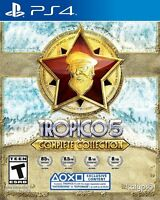 Tropico 5 Complete Collection PS4 10 DLCs - City Sim - PlayStation 4  New Sealed
