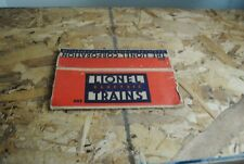 Lionel 655 Boxcar Box Only