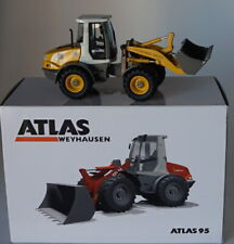NZG 1/50 Scale 640/02 Atlas 95 Weyhausen Wheel Loader Diecast Construction Model