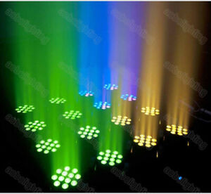 3x Pro Dj Disco Event Lighting 12X10W RGBW Moving Head DJ Stage Lights Equipment