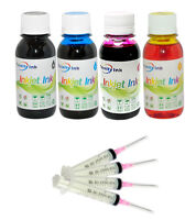 4x100ml refill ink for Epson 802 T802 T802XL WorkForce pro printers