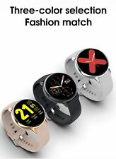 LEMFO S20 ECG Smart Watch Men Women Full Touch Screen IP68 Waterproof Heart Rate