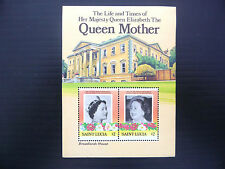 St LUCIA Wholesale 1985 Queen Mother M/Sheet x 50 U/M NEW LOWER PRICE FP1203