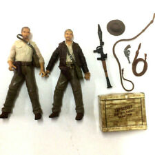 Lot 2x INDIANA JONES 2007 Collect Kingdom of the Crystal Skull 3.75'' Figure toy