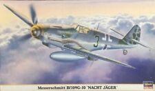 Hasegawa Messershmitt Bf109g-10 Nacht Jager ref 09511 escala 1 48