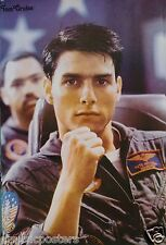 """TOM CRUISE """"TOP GUN"""" MOVIE POSTER FROM ASIA - Sitting & Thinking About Flying!"""