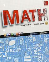 Glencoe Math, Course 1, Student Edition, Volume 1 by McGraw-Hill Education